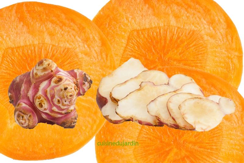 Juicing carotte topinambour