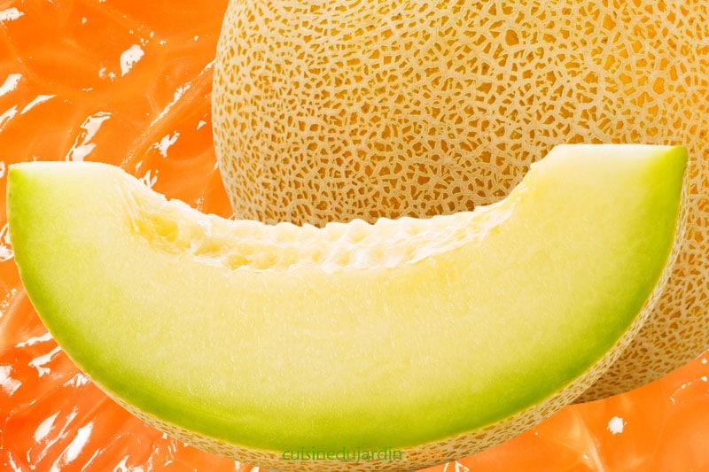 Juicing melon jaune pomelo