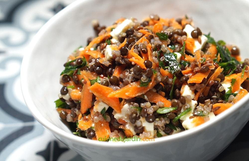 marcala salade cuisine du jardin